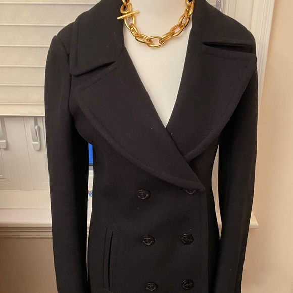 Aritzia/TNA wool pea coat